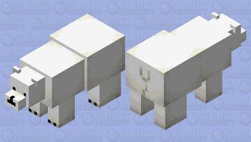 we bare bears: Ice bear [detailed] Minecraft Mob Skin