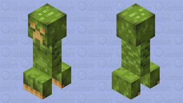 Lush Creeper Minecraft Mob Skin