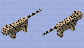 Serval Minecraft Mob Skin