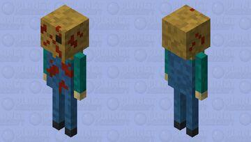 Sack headed slasher Minecraft Mob Skin