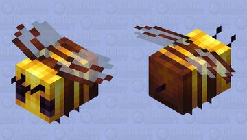 There's a Bee?! V.2 Minecraft Mob Skin