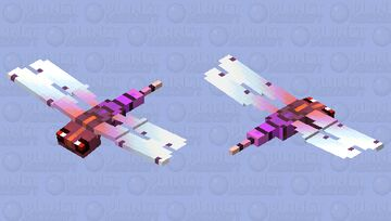 Giant prehistoric insects; dragonfly Minecraft Mob Skin