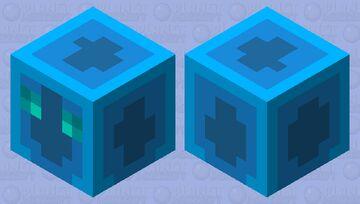 💧 Water Slime  💧 Minecraft Mob Skin
