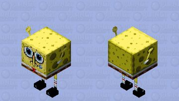Spuch Bob Get Canceled in June 19th 2014 Minecraft Mob Skin
