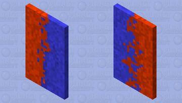 Water/Ender cape Minecraft Mob Skin