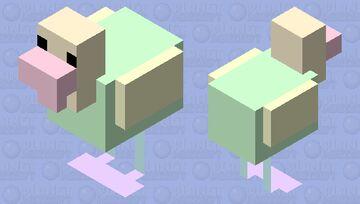 rainbow chicken Minecraft Mob Skin