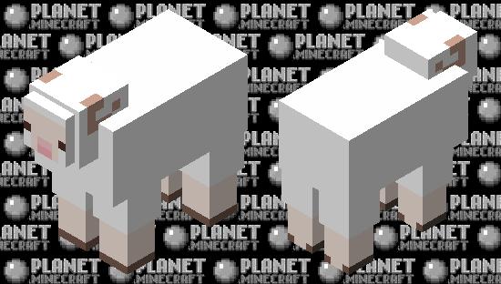 Cottagecore Sheep Minecraft Skin