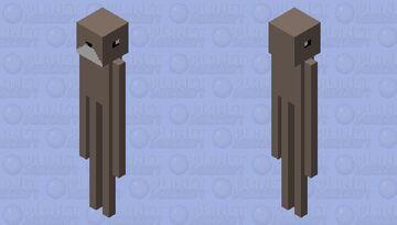 Humanoid rabbit (Trevor Henderson) Minecraft Mob Skin