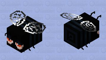 Dream critting bee Minecraft Mob Skin