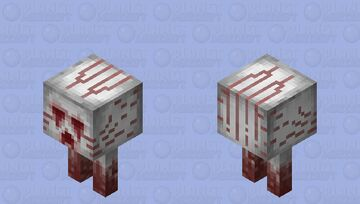 Infant Ghast (Suffocated) Minecraft Mob Skin