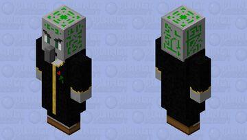 Evoker Retextured HD Minecraft Mob Skin