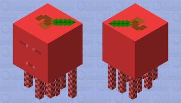 Apple Ghast Minecraft Mob Skin