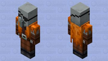 The Old Pillager/The Crew Illager (Retexture) Minecraft Mob Skin