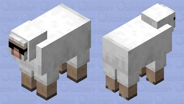 Sheep With Sunglasses Minecraft Mob Skin
