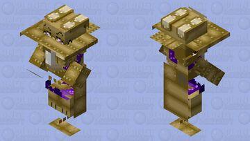 Glitchtrap mob Minecraft Mob Skin