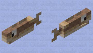 Big eye cod Minecraft Mob Skin
