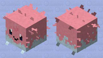 corsola pufferfish skin Minecraft Mob Skin