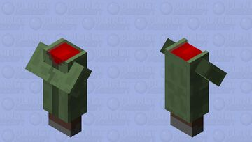 Headless Villager! who did this terrible crime?! Minecraft Mob Skin