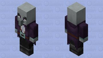 Illusioner / re-texturing / remade / like the one in dungeons Minecraft Mob Skin
