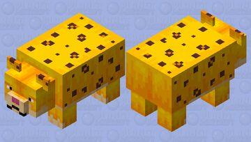 Fat Leopard Minecraft Mob Skin