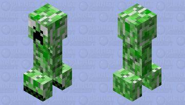 Big eye creeper Minecraft Mob Skin