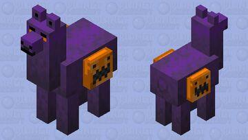 Halloween llama Minecraft Mob Skin