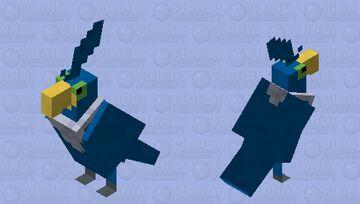 Cramorant - Pokemon Parrot Replacer Minecraft Mob Skin