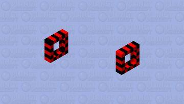Protective red-black bracelet Minecraft Mob Skin