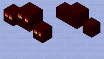 Triple Magma Cubes Minecraft Mob Skin