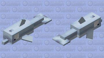 Big eye dolphin Minecraft Mob Skin