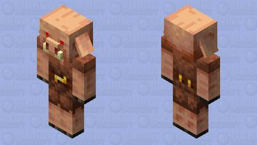 Evil pig Minecraft Mob Skin