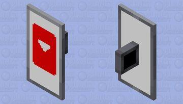 I tried to create a YouTube shield 😅. Minecraft Mob Skin