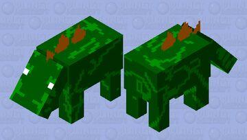 Stegozaur Minecraft Mob Skin
