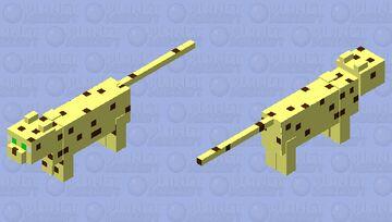 Simplified Ocelot Minecraft Mob Skin