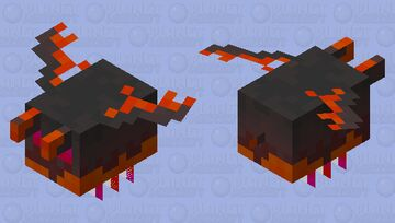 Horned Magma Skimmer (Biome Swap Contest) Minecraft Mob Skin