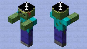 Pirate Scombie! Minecraft Mob Skin
