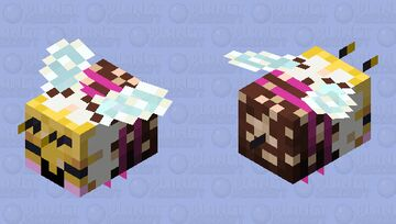 Sweeter - Happy with Pollen Minecraft Mob Skin