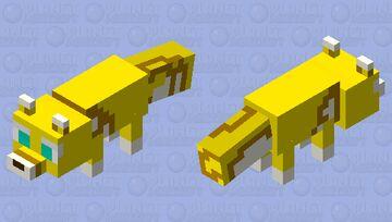 Cookie run: Buttershell Fox Cookie Minecraft Mob Skin
