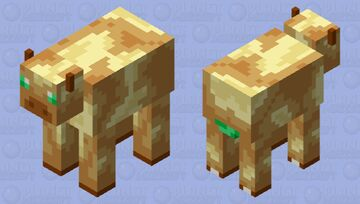 Cow: Totem of Undying Palette Minecraft Mob Skin