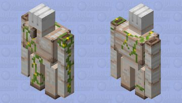 Faceless Iron Golem Minecraft Mob Skin