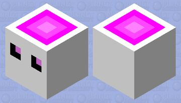 Marshmallow Cube Minecraft Mob Skin