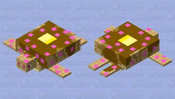 Strawberry Waffle Turtle Minecraft Mob Skin