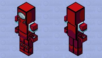 Among us x Fnaf / (read the description to know more) Minecraft Mob Skin