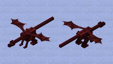Dragon del infra mundo Minecraft Mob Skin