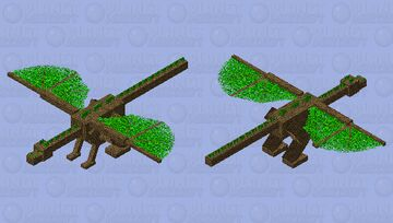 Guardian of the Forest (Basic) Minecraft Mob Skin