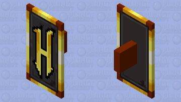 Hypixel Logo Shield Minecraft Mob Skin