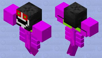 Omega Flowey Minecraft Mob Skin