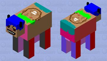 Roronoa zoro Cow Minecraft Mob Skin