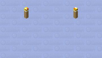 dat floating torch Minecraft Mob Skin