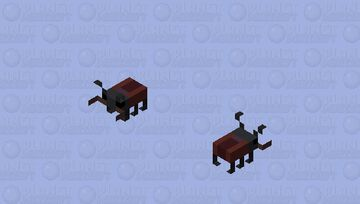 Stag Beetle Minecraft Mob Skin